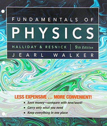 Fundamentals of Physics, 9th Edition