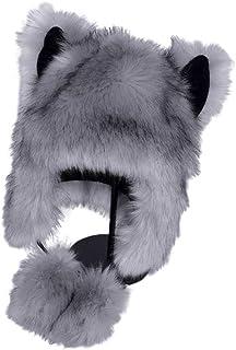 Swyss Women Winter Hat Cute Faux Fur Cap Warm Thicken Russian Ushanka Hats