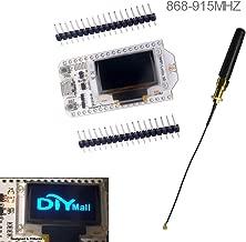 0.96 OLED Display ESP32 ESP-32S WiFi Bluetooth Lora Module Development Board Antenna Transceiver SX1276 915MHZ 868MHZ IOT for Arduino Smart Home