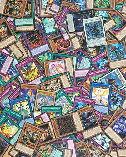 Yu-Gi-Oh! Lot de 100 Cartes Françaises sans double + 2 Cartes Brillantes Cadeau !