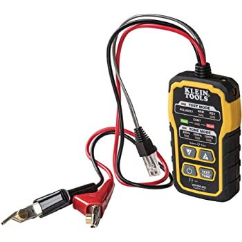Klein Tools VDV500-063 Wire Tracer Tone Generator, Toner-Pro, Phone (RJ11 and RJ12), Data (RJ45) Coax and Other Non-Energized Wire Tracer