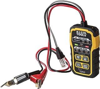 KLEIN TOOLS Generador de Tonos de trazador, Toner-Pro, teléfono (RJ11 y RJ12), Datos (RJ45) coaxial y Otros Cables no energizados VDV500-063