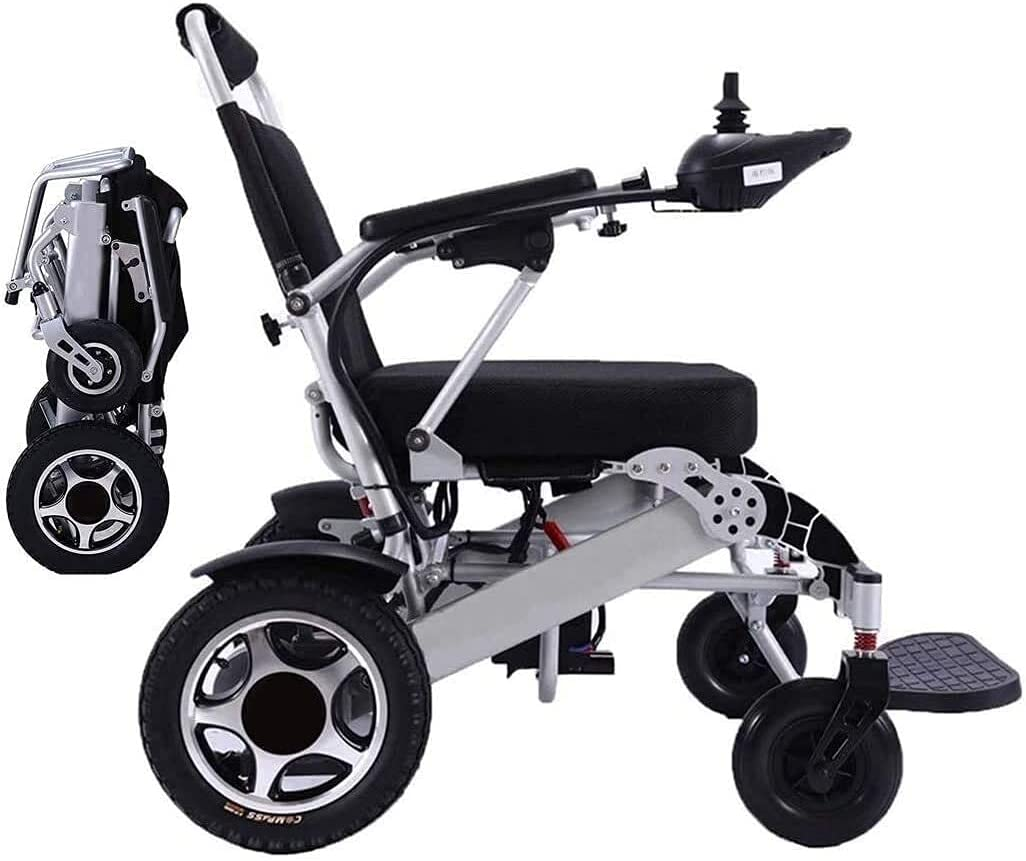 G-teeth Electric Wheelchair Foldable Lightweight Power Outlet sale feature Mobility Discount mail order