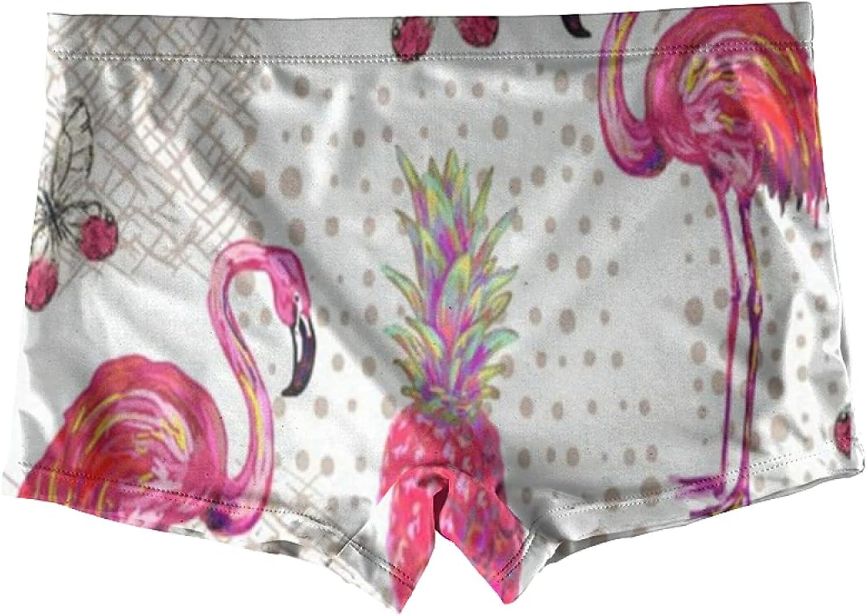 Oil Painting Running Horse Art Boxer Briefs For Girls Kids Underwear Boyshorts Boy Shorts Teen