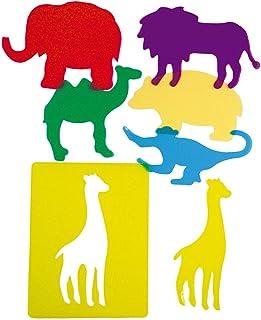 HenBea - Plantillas Animales de Zoo traslúcidas (913