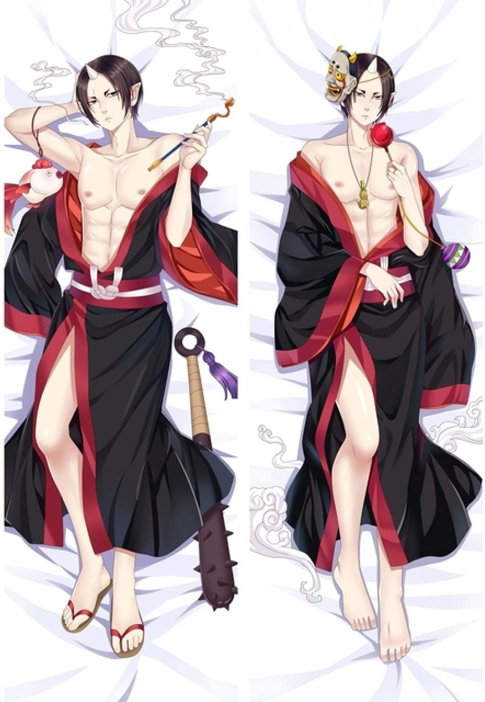 Online limited product HOICHAN Throw Pillow Cover Anime SEAL limited product Dakimakura Hoozuki Cosplay Peac