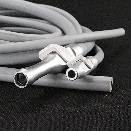 Melleco Dental Saliva Ejector Suction Valves SE/HVE Tip Adaptor + 2 Tubing Hose Tu?bes