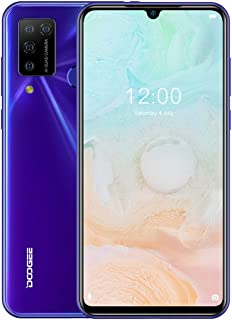 Mobile Phone N20 Pro, 6GB+128GB, Quad Back Cameras, Fingerprint Identification, 4400mAh Battery, 6.3 inch Waterdrop Notch ...