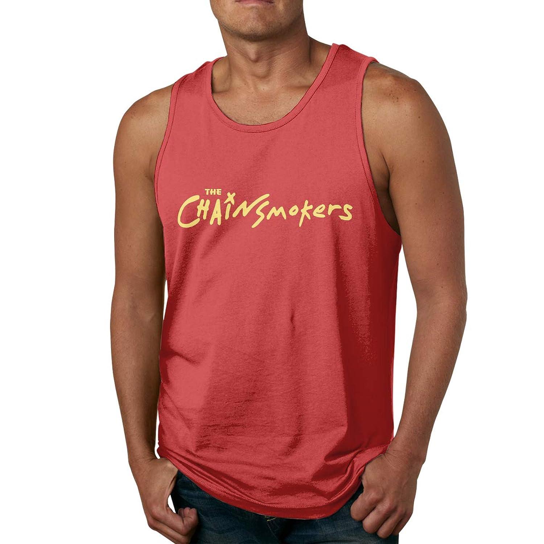 ザ?チェインスモーカーズ THE Chainsmokers タンクトップ メンズ Tシャツ ノースリーブ スポーツ トレーニングウェア インナーシャツ 吸汗 速乾 大きなサイズ