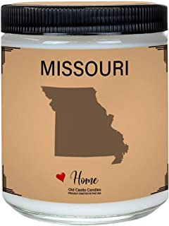 Missouri Candle, Homesick Gift, Personalized College Dorm Decor, 8 ounce