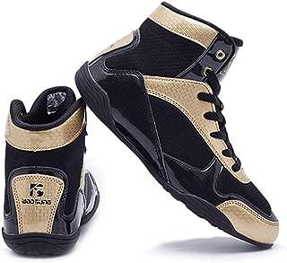 Kết quả hình ảnh cho DRON TOOON Men's Wrestling Shoes Boxing Sanda Shoe