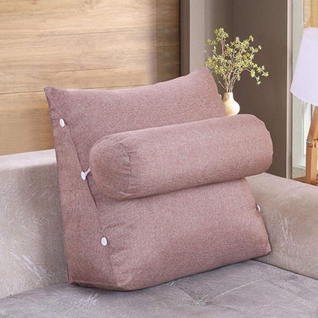 あえぎ記録してはいけません31-luoshangqing 多機能クッション、ベッドサイドクッションソファーソフトバッグ枕洗える枕クッション (Color : B, サイズ : 60*50*22)