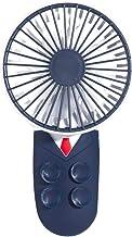 Draagbare Mini Handheld Fan met Mobiele Telefoon Houder Beugel Vouwen USB 3 Speed Persoonlijke Bureau Ventilator voor Thui...