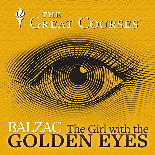 Balzac, The Girl with the Golden Eyes audiobook cover art