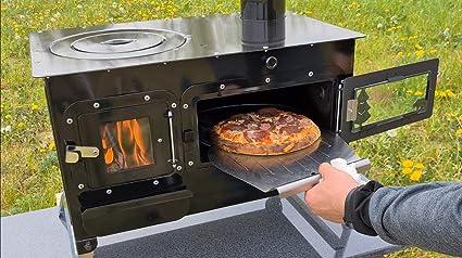 Ecofoxx Outdoor Kitchen Oven Garden Fireplace Garden Kitchen Rosalie Pizza Oven Tent Stove Amazon De Garden