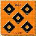 Caldwell Orange Peel 12 Inch Sight-In Targets, 5 Pack