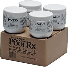 PoolRx Booster Minerals for Pool, 7500 to 20000 gallons,4 Pack