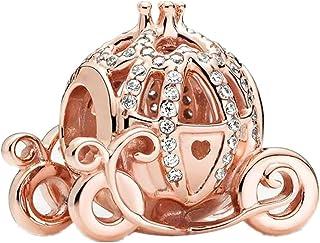 Annmors Familie Herz Charm-Anh/änger 925 Sterling Silber Charm Bead f/ür Chamilia und europ/äische Armb/änder und Halsketten