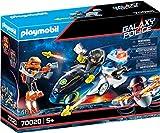 Playmobil - Policía Galáctica Moto, Juguete, Color Multicolor, 70020