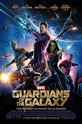 Posters USA Marvel Guardian of the Galaxy Movie Poster GLOSSY FINISH - FIL281 (24' x 36' (61cm x 91.5cm))