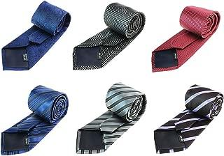 Tiger Mama 6pcs Business Regular Necktie Tie Mixed Lot