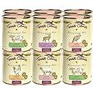 Terra Canis Classic Hundefutter 12 x 800g Dosen Mix XL (12 x 800g) Feuchtfutter Hausmannskost für Hunde