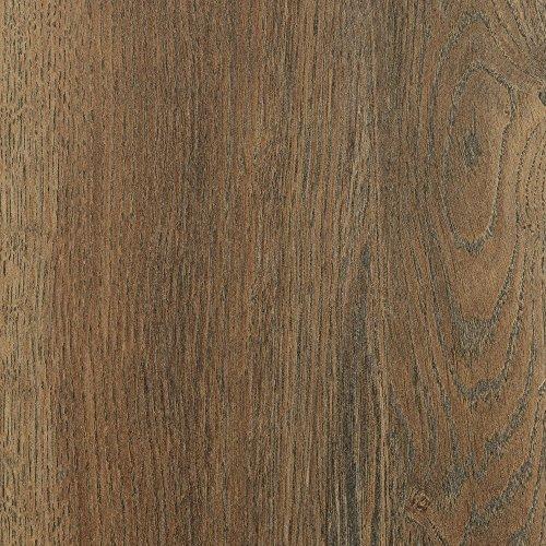 BODENMEISTER BM75001 Klick Laminat-Boden Holzoptik, Dielenoptik Eiche Dunkel-Braun, 1375 x 188 x 12 mm