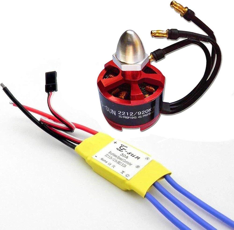 Generic 2212 920KV Brushless Motor for F330 F450 F550 X525 Quad Multiredor+30A ESC