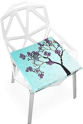 Amazon.com: gaopeng cojín de asiento cojines de silla juego ...