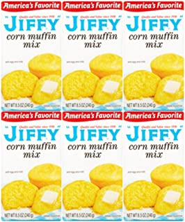 product image for Jiffy Corn Muffin Mix, 8.5 oz, (6 Boxes) - SET OF 4
