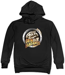 Men Grim Fandango Remastered Hoodie