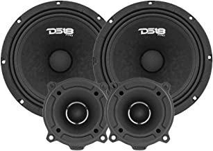 "$89 » DS18 PRO-GM8.4PK Mid and High Complete Package - Includes 2X Midrange Loudspeaker 8"" and 2X Aluminum Super Bullet Tweeter ..."