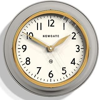 Newgate Cookhouse II Overcoat Grey Wall Clock