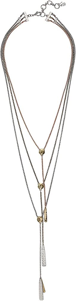 Lucky Brand - Lucky Layer Bar Necklace