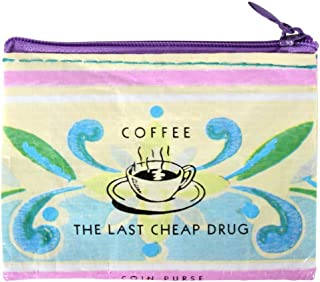 Blue Q Coffee Money Recycled Coin Purse