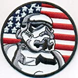 USA Fahne Star Wars TROOPERS Startrek Uniform Kostüm Patch Aufnäher Abzeichen
