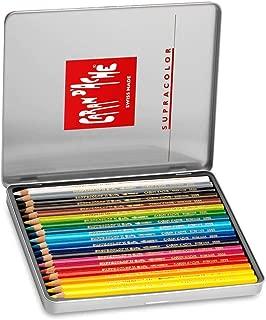 CREATIVE ART MATERIALS Caran D'ache Supracolor Metal Box Set Of 18 (3888.318)