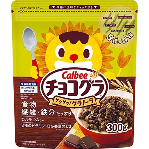 カルビー チョコグラ 300g ×8袋