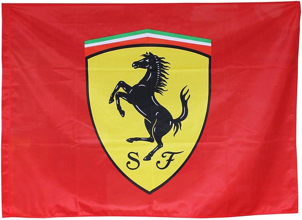 Ferrari, bandiera con logo ferrari , misure 120x90cm 130161167-600