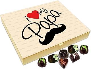 Chocholik Fathers Day Gift Box - I Love My Father Chocolate Box - 20pc