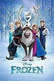 Disney Close Up Frozen Poster Die Eiskönigin Cast (61 cm x