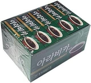 Lotte Arabica Coffee Gum 26g x 15 Count 아라비카