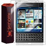 Skinomi TechSkin - Schutzfolie für BlackBerry Passport - Vorder- & Rückseite