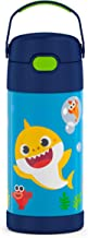 THERMOS FUNTAINER 12 Ounce Bottle, Baby Shark