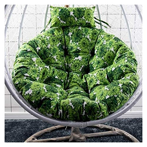 ZHZH Outdoor/Indoor Furniture Chair Cushion Garden Patio Rattan Swing Chair Pads Wicker Hanging Egg Chair Hammock Cushion and Cover Indoor or Outdoor (Color : B)