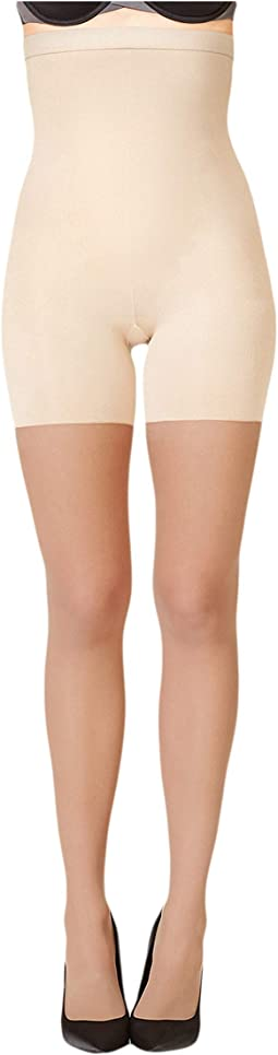 aec7a22d88 Spanx fishnet floral mid thigh shaping tights | Shipped Free at Zappos