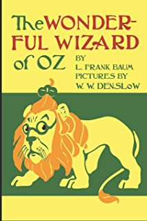 """The Wonderful Wizard of OZ: 6"""" x 9"""" 150 page lined notebook/journal/diary featuring the famous Original Wizard of OZ Book ..."""