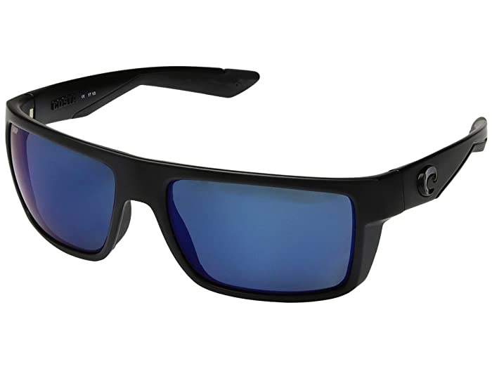 Costa  Motu (Blackout Frame/Blue Mirror 580P) Fashion Sunglasses