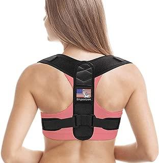 Back Posture Corrector for Women Men - Upper Back Brace Posture Corrector - Adjustable Clavicle Posture Support - Effective Back Straightener,Correct Back Posture Brace for Pain Relief (Universal)