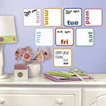 Asian Paints Nilaya Days of the Week Planner Dry Erase wall stickers